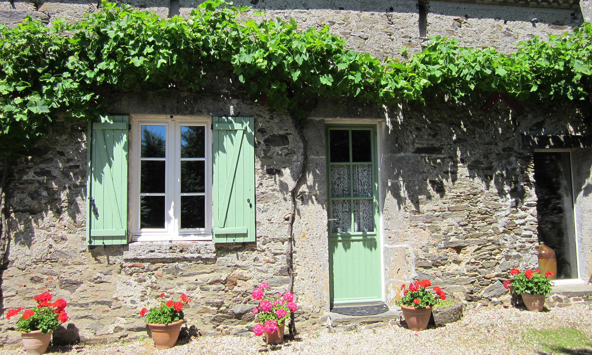 jardin de maison Holiday Property in the Loire Valley. u201c